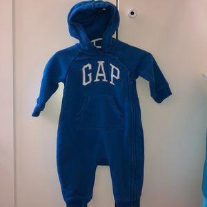 BabyGAP zipper onesie with hood